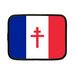Flag Of Free France (1940 1944) Netbook Case (small)