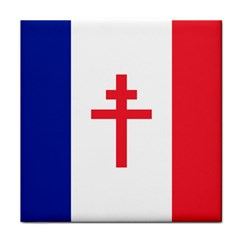 Flag Of Free France (1940 1944) Face Towel