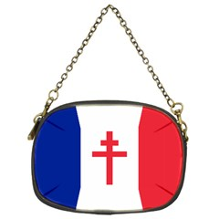 Flag Of Free France (1940 1944) Chain Purses (one Side)