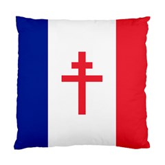 Flag Of Free France (1940 1944) Standard Cushion Case (two Sides)