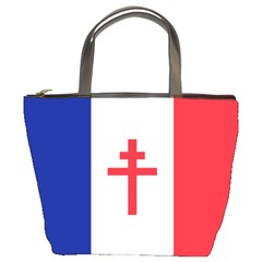 Flag Of Free France (1940 1944) Bucket Bags