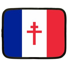 Flag Of Free France (1940 1944) Netbook Case (xxl)
