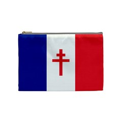 Flag Of Free France (1940 1944) Cosmetic Bag (medium)