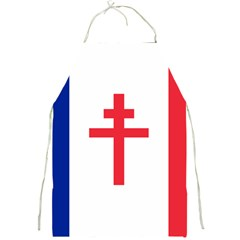 Flag Of Free France (1940 1944) Full Print Aprons