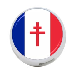 Flag Of Free France (1940 1944) 4 Port Usb Hub (one Side)