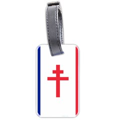 Flag Of Free France (1940 1944) Luggage Tags (two Sides)