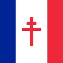 Flag Of Free France (1940 1944) Magic Photo Cubes