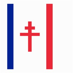 Flag Of Free France (1940 1944) Small Garden Flag (two Sides)