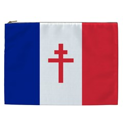 Flag Of Free France (1940 1944) Cosmetic Bag (xxl)
