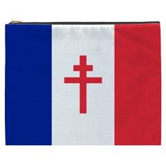Flag Of Free France (1940 1944) Cosmetic Bag (xxxl)