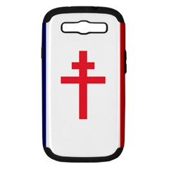 Flag Of Free France (1940 1944) Samsung Galaxy S Iii Hardshell Case (pc+silicone)