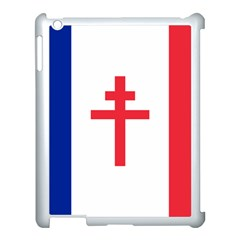 Flag Of Free France (1940 1944) Apple Ipad 3/4 Case (white)