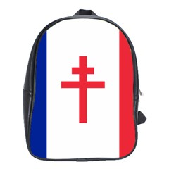 Flag Of Free France (1940 1944) School Bags (xl)