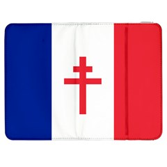 Flag Of Free France (1940 1944) Samsung Galaxy Tab 7  P1000 Flip Case