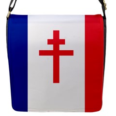 Flag Of Free France (1940 1944) Flap Messenger Bag (s)