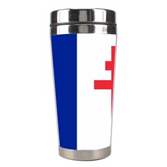 Flag Of Free France (1940 1944) Stainless Steel Travel Tumblers