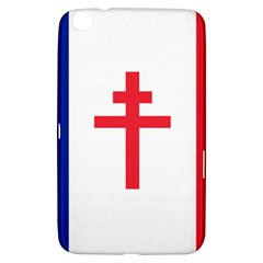 Flag Of Free France (1940 1944) Samsung Galaxy Tab 3 (8 ) T3100 Hardshell Case