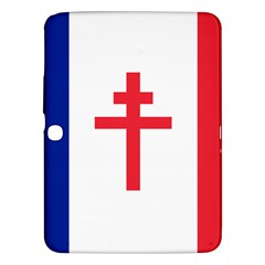 Flag Of Free France (1940 1944) Samsung Galaxy Tab 3 (10 1 ) P5200 Hardshell Case