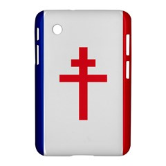 Flag Of Free France (1940 1944) Samsung Galaxy Tab 2 (7 ) P3100 Hardshell Case