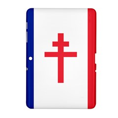 Flag Of Free France (1940 1944) Samsung Galaxy Tab 2 (10 1 ) P5100 Hardshell Case