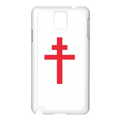 Flag Of Free France (1940 1944) Samsung Galaxy Note 3 N9005 Case (white)