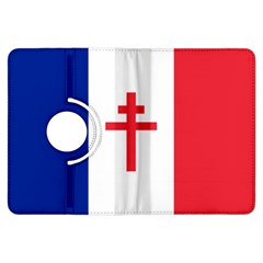 Flag Of Free France (1940 1944) Kindle Fire Hdx Flip 360 Case