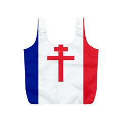 Flag Of Free France (1940 1944) Full Print Recycle Bags (s)