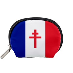 Flag Of Free France (1940 1944) Accessory Pouches (small)