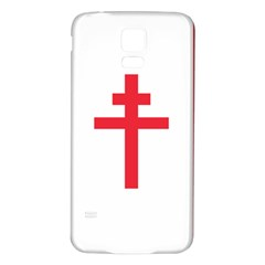 Flag Of Free France (1940 1944) Samsung Galaxy S5 Back Case (white)