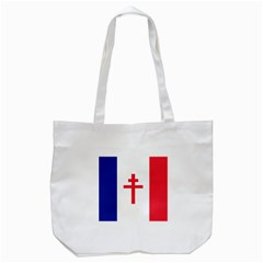 Flag Of Free France (1940 1944) Tote Bag (white)