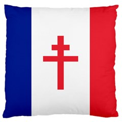 Flag Of Free France (1940 1944) Standard Flano Cushion Case (one Side)
