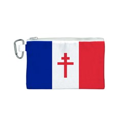 Flag Of Free France (1940 1944) Canvas Cosmetic Bag (s)