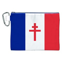 Flag Of Free France (1940 1944) Canvas Cosmetic Bag (xxl)