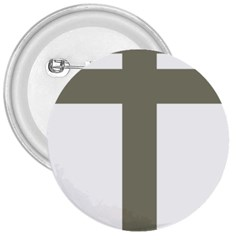 Cross Of Loraine 3  Buttons