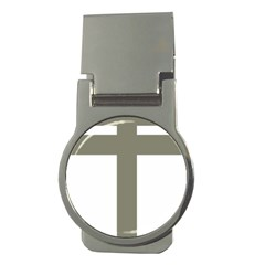 Cross Of Loraine Money Clips (round)