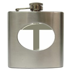 Cross Of Loraine Hip Flask (6 Oz)