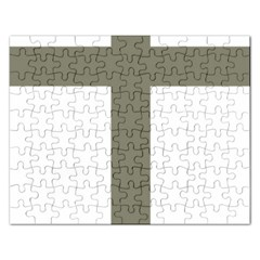 Cross Of Loraine Rectangular Jigsaw Puzzl