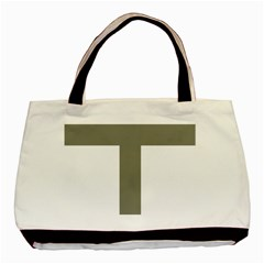Cross Of Loraine Basic Tote Bag (two Sides)