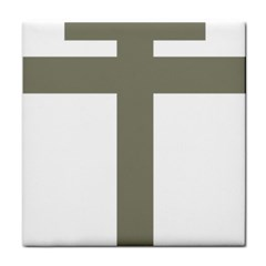 Cross Of Loraine Face Towel