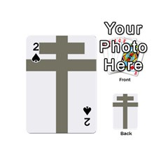Cross Of Loraine Playing Cards 54 (mini)