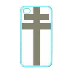 Cross Of Loraine Apple Iphone 4 Case (color)