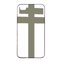 Cross Of Loraine Apple Iphone 4/4s Seamless Case (black)