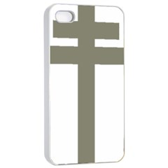 Cross Of Loraine Apple Iphone 4/4s Seamless Case (white)