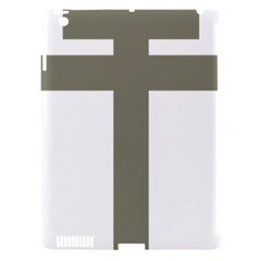 Cross Of Loraine Apple Ipad 3/4 Hardshell Case (compatible With Smart Cover)