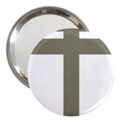 Cross Of Loraine 3  Handbag Mirrors