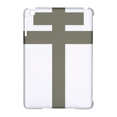 Cross Of Loraine Apple Ipad Mini Hardshell Case (compatible With Smart Cover)