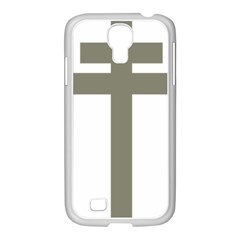 Cross Of Loraine Samsung Galaxy S4 I9500/ I9505 Case (white)