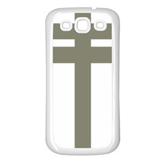 Cross Of Loraine Samsung Galaxy S3 Back Case (white)