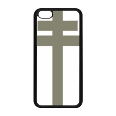 Cross Of Loraine Apple Iphone 5c Seamless Case (black)