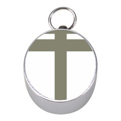 Cross Of Loraine Mini Silver Compasses